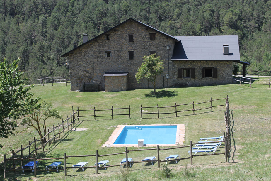 country house coll de la mola and paller