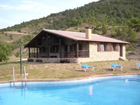 Casas rurales con piscina casas rurales completas de lujo - Casas rurales en los pirineos catalanes ...